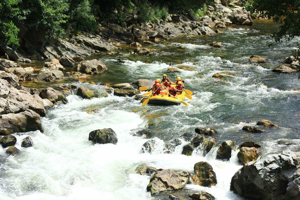 rafting pas de roland pays basque itxassou bidarray sport nature riviere
