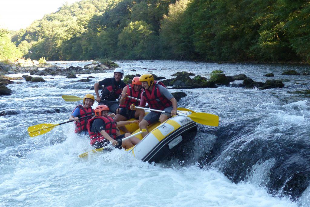 rafting itxassou