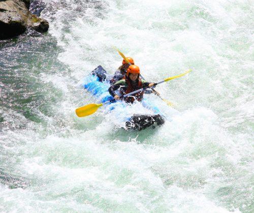 rafting pas de roland, canoraft, eau-vive, sport, nature, pays basque